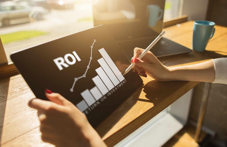 ROIの投資効率