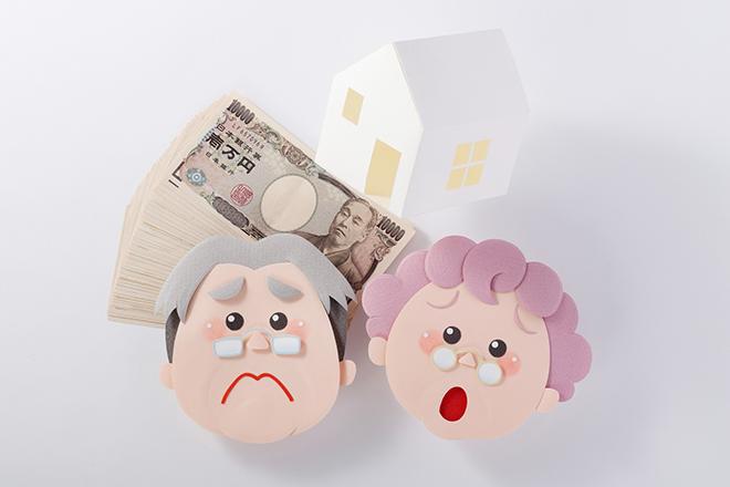 高齢者貧困のイメージ